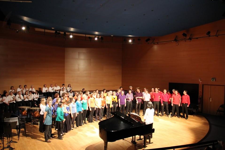 Concert avec l'harmonie de Meylan