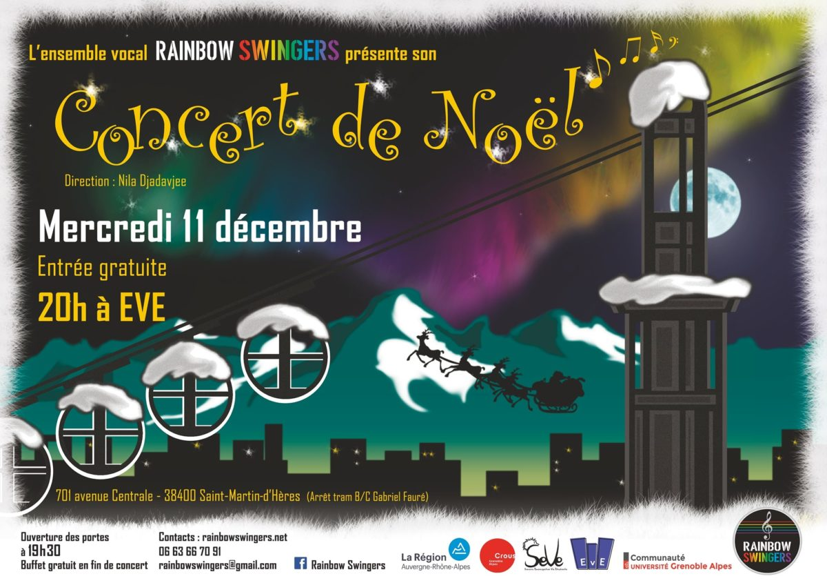Concert de Noël à EVE